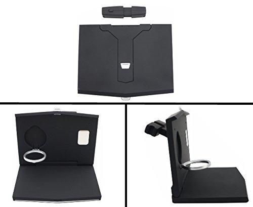 KITT universalft Universal Auto Kopfstütze Schreibtisch Laptop Klapptisch Arbeitsplatte Cup Ständer Rückseite Sitz