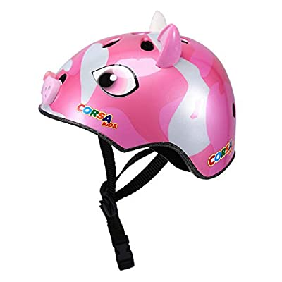 Babimax Kids Childrens 3D Cartoon Animals Safety Helmet Cycling Skating Scooter Bike Helmets for Girls Boys Gifts by TL-005