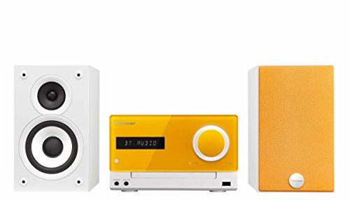 Pioneer X-CM32BT-D Micro Hifi-System (2x 15 Watt, Bluetooth, Front-USB, CD, Streaming App) orange (Stereo-anlage Für Den Club)