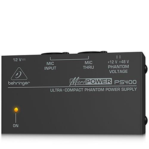 Behringer PS400 Micropower Phantomspeisungs Adapter (Netzteil Behringer)