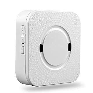 Wireless Doorbell Chime, Indoor No Batteries Required Bell for AKASO Video Doorbell, 600ft, Blue Light & 5-Level Volume with 55 Tune Chimes