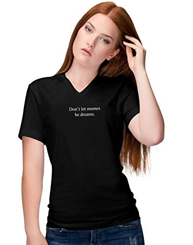 reams Slogan Damen V-Neck T-Shirt S ()