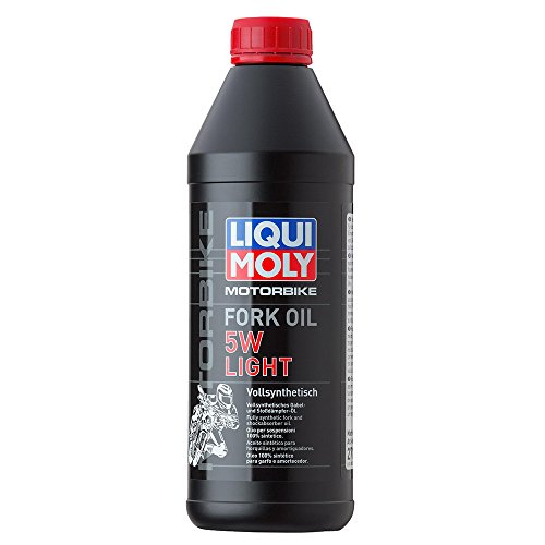 liqui moly 2716 huile pour fourche light 5w de moto 1 l pas cher meca. Black Bedroom Furniture Sets. Home Design Ideas