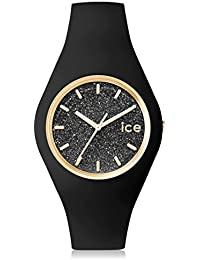 Ice-Watch Glitter Damenuhr Analog Quarz mit Silikonarmband – 001633