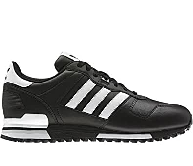 Adidas Originals Men's ZX 700 Comp Black White Leather
