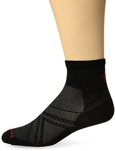 Smartwool Socken Strümpfe PhD Run Ultra Light Mini, Black, M, BSW165