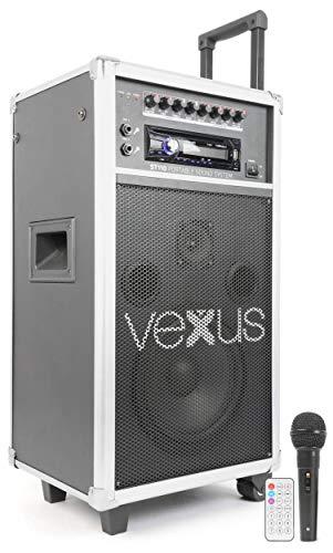 Vexus ST110 Système de sonorisation portatif 20cm (8 ') CD SD USB MP3