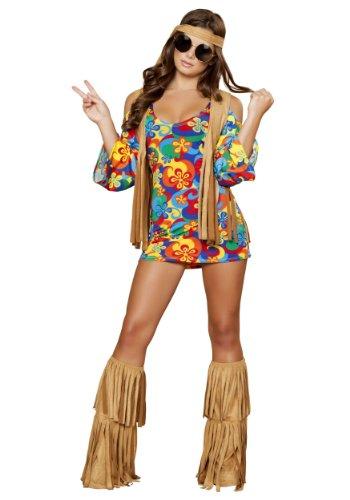 Plus Size Womens Hippie Hottie Fancy Dress Costume 2X (Hippie Hottie Kostüm)