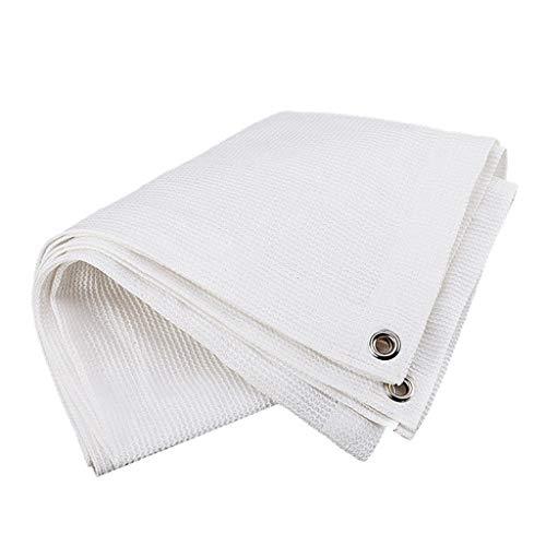 Lixin Filet d'ombrage d'épaississement extérieur en polyéthylène (Couleur : Blanc, taille : 6M×1M)