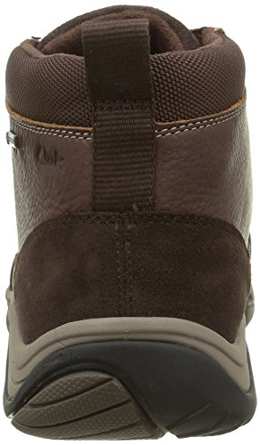 Clarks Baystonetopgtx, Bottes Classiques Homme Marron (Brown Warm Lined)
