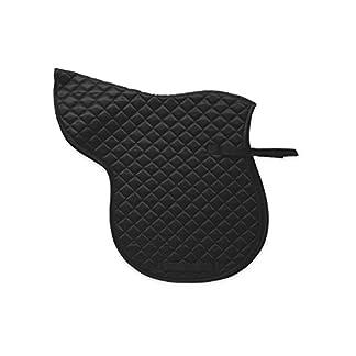 100% Polyester 170GSM Quilted Horse Cob Saddle Numnah - Colour Black ( Equestrian Horse Cob Saddle Pads ) 100% Polyester 170GSM Quilted Horse Cob Saddle Numnah – Colour Black ( Equestrian Horse Cob Saddle Pads ) 41Cfgzu 2BeNL