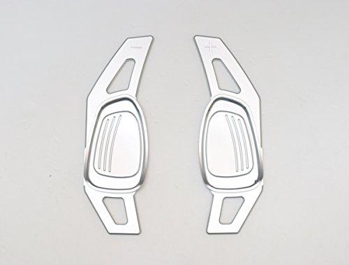 Pinalloy CNC en alliage de métal argent volant Paddle Shifter extension pour A5 S3 S5 S6 SQ5 RS3 RS6 RS7 2014-17