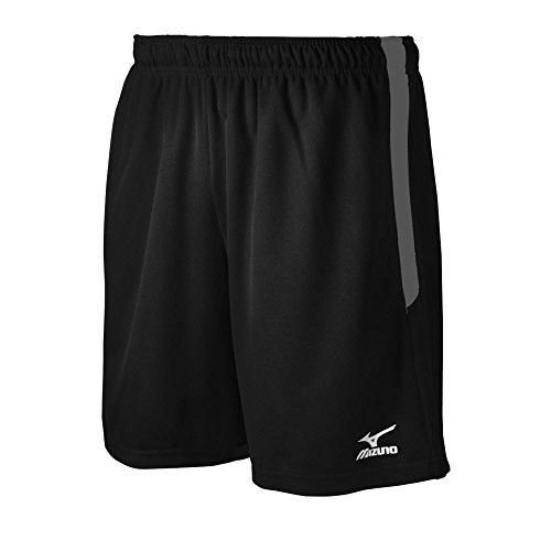 Mizuno Elite Workout Shorts, Herren, schwarz