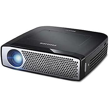 Philips PPX4935 Vidéoprojecteur de Poche LED sans fil 350 lumens HD 720p Noir