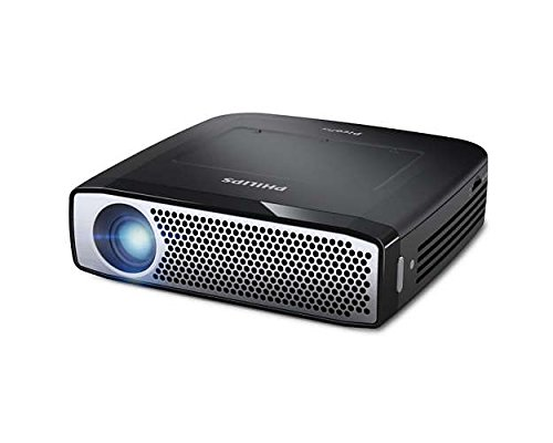 Philips PPX4935 Mini vidéoprojecteur de Poche LED sans fil 350 lumens HD 720p Noir