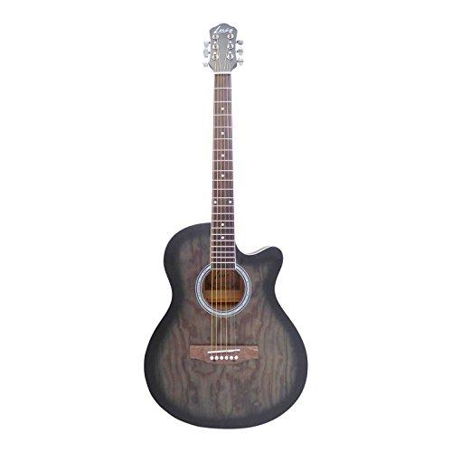 Luis by Acandoo Westerngitarre 4/4 Acoustic Guitar 40' Cutaway Matt Tobacco Sunburst