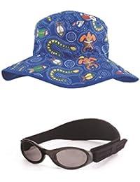 Baby Coffret cadeau Noir BabyBanz et Dreamtime Bonnet Bleu 0–2ans