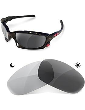 Sunglasses Restorer Lentes Fotocromáticas Grises de Recambio para Oakley Split Jacket