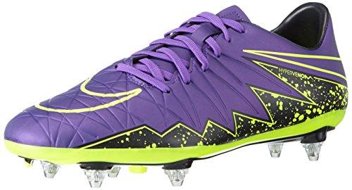 Nike Hypervenom Phelon II SG, Herren Fußballschuhe, Violett (Hyper Grape/Hypr Grape-Blk-VLT 550), 42.5 EU