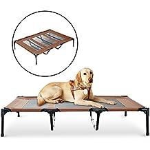 Cama Mascota para Perros Gatos Camas para Domir Relajar Exterior Terraza Jardín Malla de Ventilación