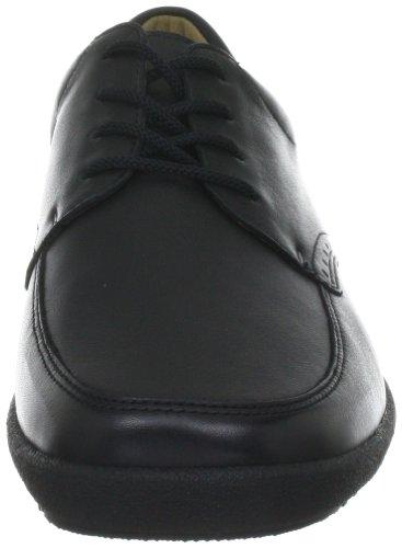 Ganter SENSITIV Katrin Weite K 4-207961, Chaussures à lacets femme Noir-TR-J2-11
