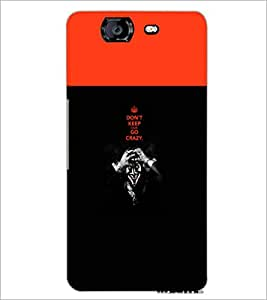 PrintDhaba Quote D-5745 Back Case Cover for MICROMAX A350 CANVAS KNIGHT (Multi-Coloured)