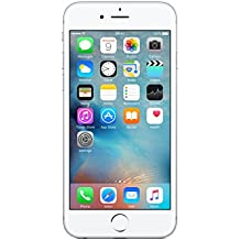 Apple iPhone 6s 16GB Smartphone Libre - Plata  (Reacondicionado Certificado)