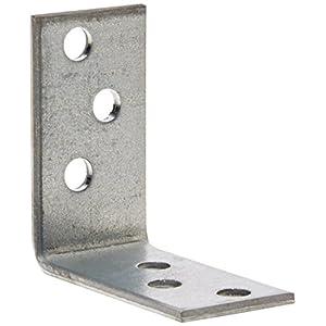 Connex Sparpack Winkelverbinder 40 x 40 x 20 x 2 mm, verzinkt, 25 Stück, HVG2400