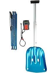 Mammut Pulse Barryvox Package - Baliza para esquí de descenso libre, color azul, talla One Size