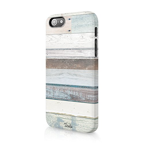 tirita Hard Fall Phone Cover Marmor Holz granit Textur Holz Pastell Collage Geometrische Rustikal trendige Fashion Geschenk Geschenk Cute Design - X One Fall Htc Holz