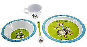Hans Christian Andersen - Pack de regalo melamina Hans y el soldadito de plomo (Barbo Toys 6219)