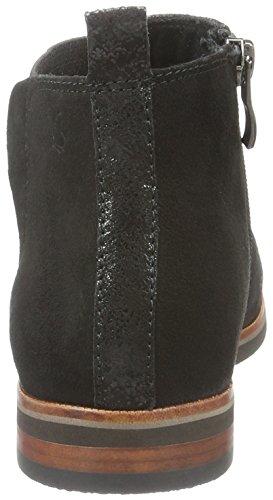 Caprice Damen 25358 Chelsea Boots Schwarz (Black Suede 4)