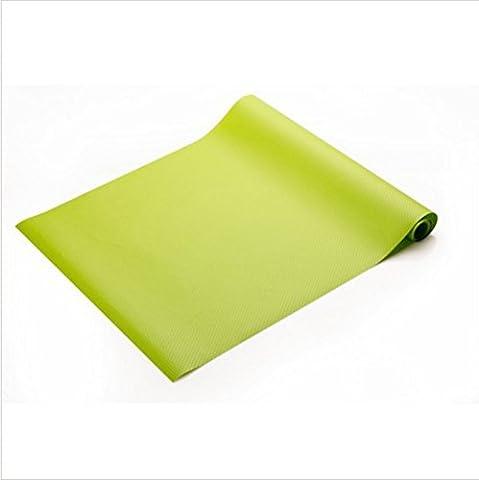 multiusage 150* * * * * * * * 45cm Eva Cuisine DIY étanche Pad antisalissure Moistureproof Tapis antidérapant pour tiroir/placard/Cab, Green, 150*45cm
