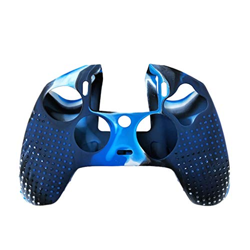 Webla 2. Generation Silikon-Schutzhülle für PlayStation 4 Controller Nacon 2, blau (Playstation-drum-set)