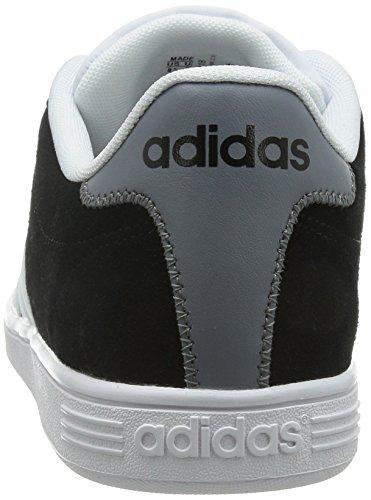 Adidas Vlcourt, Scarpe Low-Top Uomo Negro (Negbas / Ftwbla / Gris)