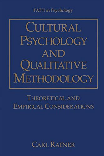 Cultural Psychology and Qualitative Methodology: Theoretical and Empirical Considerations (Path in Psychology)