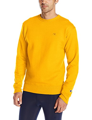 champion-sweat-shirt-manches-longues-homme-or-small