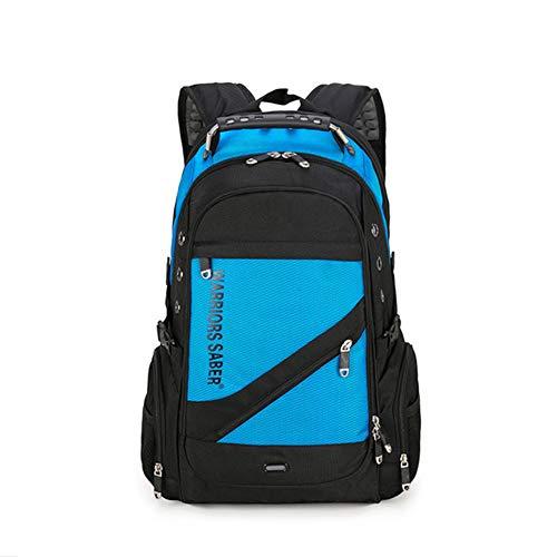 Realgoods Sabre Multifunktionsrucksack USB Diebstahlsicherer Rucksack Studentin Tasche Laptoptasche, Schulranzen Wanderrucksack Reise Outdoor Shouder Bag,blue -