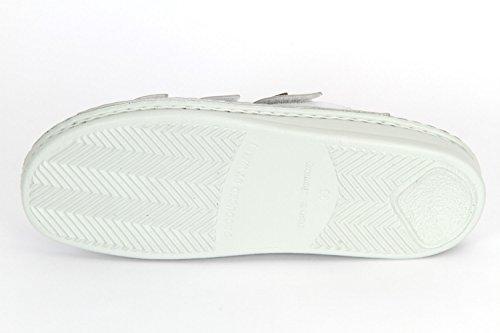 Finn Comfort Korfu Unisex-Erwachsene Sandalen Weiß