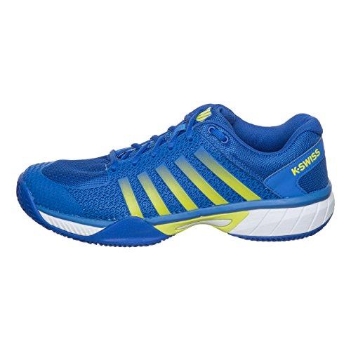K-Swiss Performance Herren Ks Tfw Express Light Hb Tennisschuhe, Blau (Strong Blue/White/Neon Citron 50), 39.5 EU