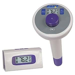 Essentials Digital Funk Schwimmbad und Spa Thermometer