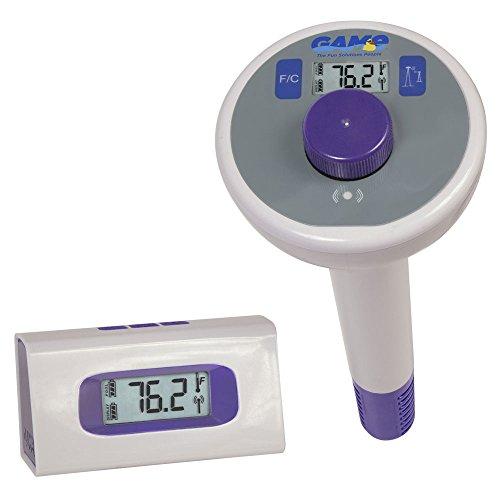 Essentials Thermomètre numérique sans fil de piscine et spa