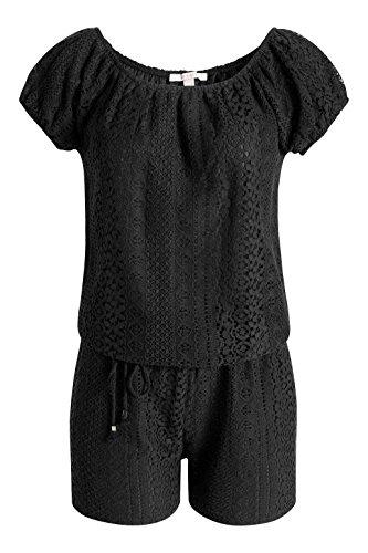 Esprit 056ee1l005-Lace, Combinaisons Femme Noir - Noir (001)
