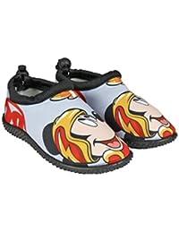 b7e224ae6 Mickey Mouse - Zapatillas de Estar por Casa de 100% poliéster Unisex niños