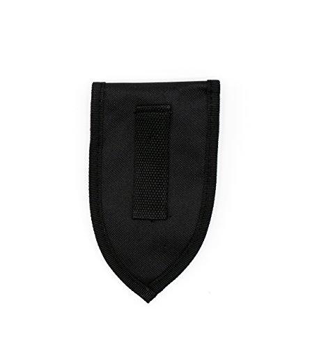 Mini-Schaufel aus Edelstahl klappbar mit Tasche