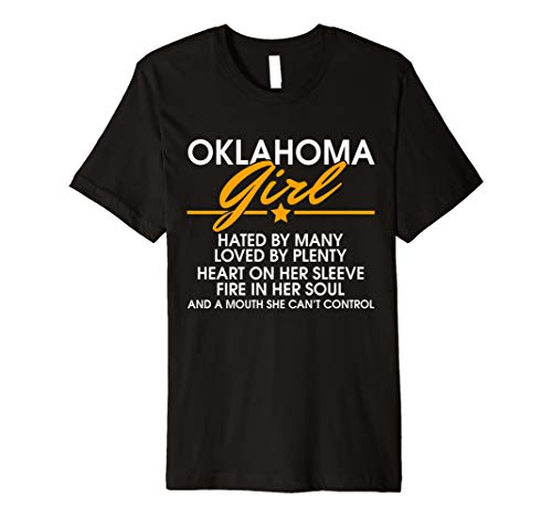 Cool Oklahoma Girl Facts Patriot T-shirt