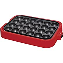Electric Takoyaki Pan Pancake Suzanne Lefebvre – 24 Molds [Kitchen] (Japan Import)