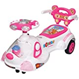 EHomeKart Scooby Twist And Swing Magic Car Ride On For Kids With Music And Lights For Boys And Girls ( 1 Year To 4 Years)