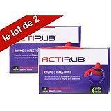 Sante Verte Acti'rub pour le Rhume et infections - sante-verte-acti-rub - traitement-du-rhume-au-naturel - lot 2x15 comprimés
