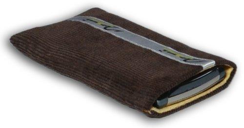 Norrun Handytasche / Handyhülle # Modell Kjell # ersetzt die Handy-Tasche von Hersteller / Modell Samsung SGH-Z710 # maßgeschneidert # mit einseitig eingenähtem Strahlenschutz gegen Elektro-Smog # Mikrofasereinlage # Made in Germany
